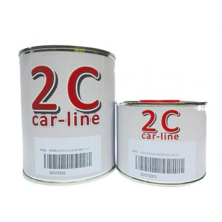 Aparejo acrílico 2K + Catalizador 250 ml.