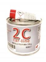 Fibra de vidrio 2C 250 gr.(masilla poliester)