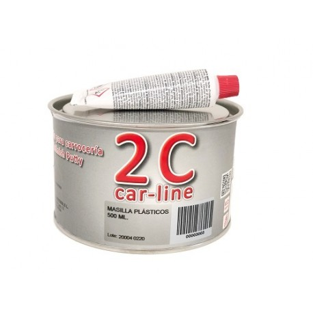 Masilla plásticos 2C 500 ml.