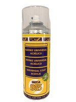 Barniz 1K especial de faros policarbonato UV Spray 400ml Wetor 965