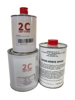 IMPRIMACION 2K EPOXI GRIS CLARO  1Kg.+CATALIZADOR EPOXI 500 ml.+Diluyente Epóxi 1 L.