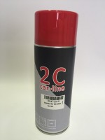 SPRAY 2C 1K ESMALTE NEGRO MATE 400 ml.