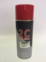 SPRAY 2C 1K ESMALTE BLANCO SATINADO 400 ml.