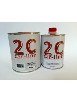 Barniz 2C HS  Anti-rayado SATINADO 5050 1 L. 5:1:5% + Catalizador 200 ml.