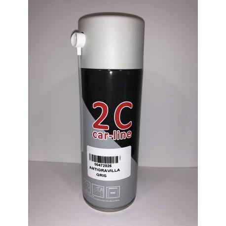 SPRAY 2C 1K ANTIGRAVILLA GRIS 400 ml.