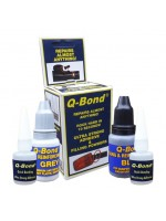 Q-BOND mini kit PEGAMENTOS  de reparación multi usos: (adhesivo 2x10ml) (polvo 2x20gr. negro / gris)