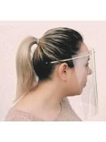 Visera pantalla protección facial ABS/PET Covid-19